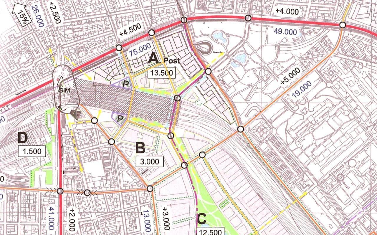 Masterplan Bahnhof Wien Mitte