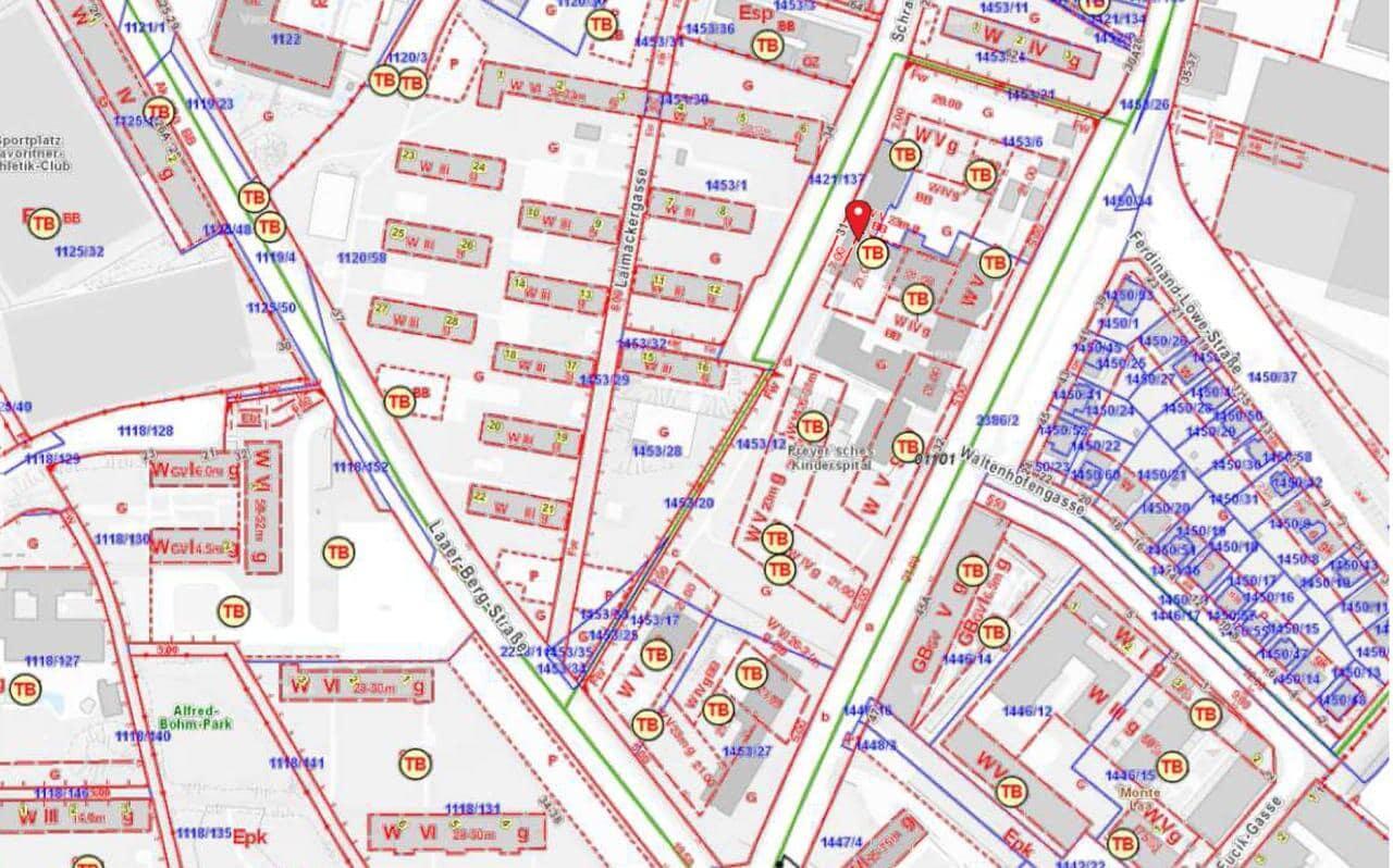 Flächenwidmungsplan Preyer´sche Höfe