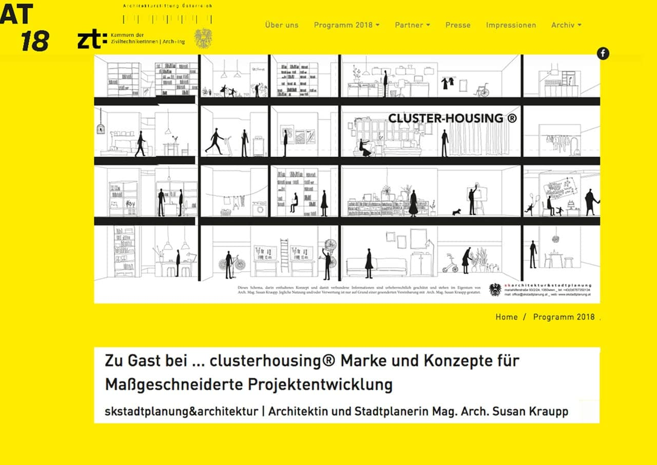 Architekturtage 2018 _ Projektentwicklung
