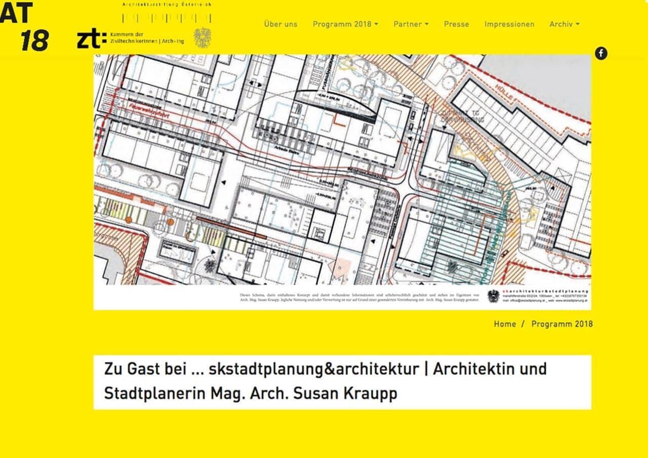 Architekturtage 2018 _ Städtebau